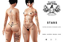 KAOS - STARS COLLORS TATTOO