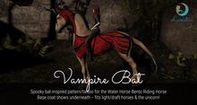Lunistice: Vampire Bat - Water Horse Pattern/Tattoo