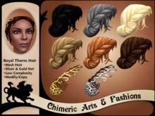 Royal Thorns Hair - Fat Pack