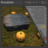 Pumpkin Game Theme - THEME ONLY - REQUIRES PURCHASE OF COMPATIBLE GAME LICENSE