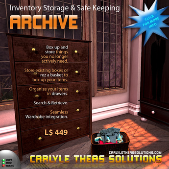 (CTS) Archive - Inventory Storage and Safe Keeping