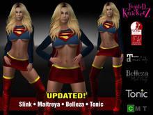 ::TK:: Supergirl Inspired Costume V.2