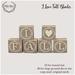 {what next} 'I Love Fall' Blocks