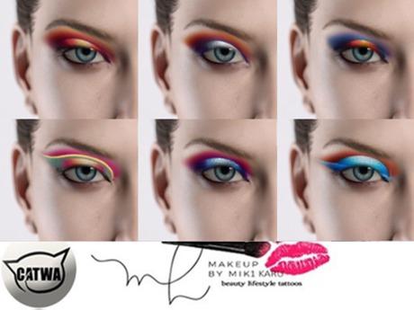 Catwa Sundowner Eyeshadows Makeup Applier