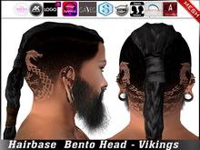 Hairbase Bento Head - Vikings