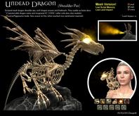 Undead Dragon - Shoulder Pet