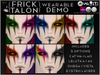 {Frick} Talon Makeup Wearable DEMO {Appliers & System Included}