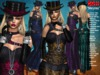 **MARYNES STEAMPUNK STYLE UNIVERSAL HUD 5 TEXTURES OUTFIT**