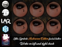 Von Noir Tattoo - Little Symbols Halloween Edition