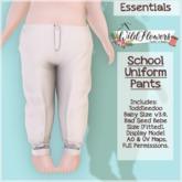 {WF} School Uniform - Demo - Pants [Box]