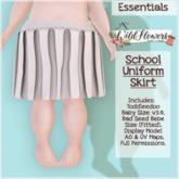 {WF} School Uniform - Demo - Skirt  [Box]