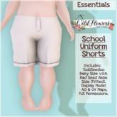 {WF} School Uniform - Full Perm - Shorts [Box]