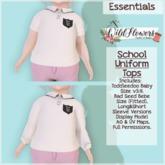 {WF} School Uniform - Full Perm - Tops  [Box]