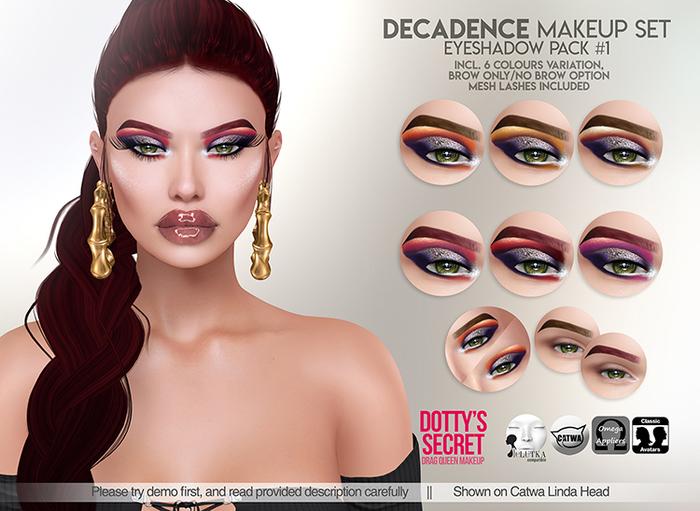 Dotty's Secret - Decadence - Eyeshadow #PACK 1