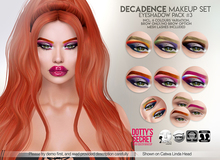 Dotty's Secret - Decadence - Eyeshadow #PACK 3