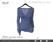 ~Nerido~ Anetta Dress (Maitreya)-Indigo Lace