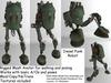 Diesel Punk Mesh Robot Avatar 1.0