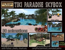 PROMO 1700L OFF ONLY AT MARKETPLACE!!Tiki Paradise skybox  - beach skybox -tiki skybox - tropical skybox