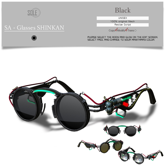 :::SOLE::: SA - Glasses SHINKAN