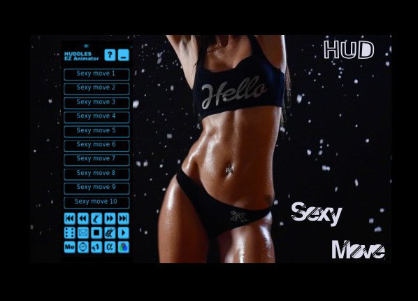 Dance HUD Sexy move (15 Dances)