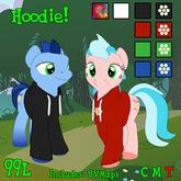 Flower Pony Hoodiie