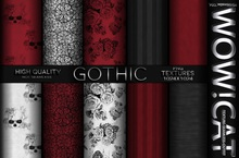 TEXTURE WOW!CAT FULL PERM GOTHIC PACK 33