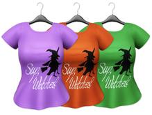 Bowtique - Sup Witches T-shirt (Maitreya)