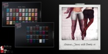 ~Rebellious Rose~ Ariana Jeans with Boots v1