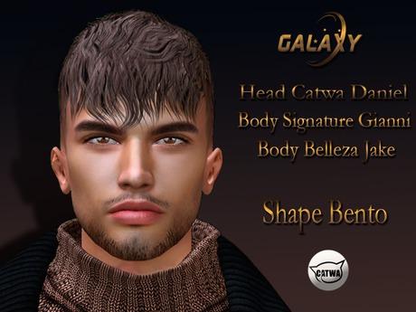 GALAXY - LEONE - HEAD BENTO SHAPE  CATWA DANIEL