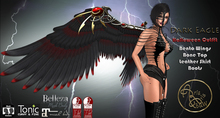 ***ArisArisB&W~Alus82~Dark eagle~HALLOWEEN OUTFIT