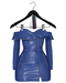 Jeune by Rowne.Fraser Moto Dress - Cobalt
