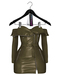 Jeune by Rowne.Fraser Moto Dress - Olive