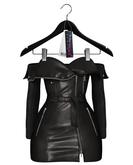 Jeune by Rowne.Fraser Moto Dress - Onyx