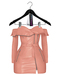 Jeune by Rowne.Fraser Moto Dress - Pink