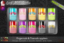 [ S H O C K ] Lovely Nails Appliers (Slink - Omega)