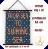 {BLC} Sea to Shining Wall Scroll (Boxed)