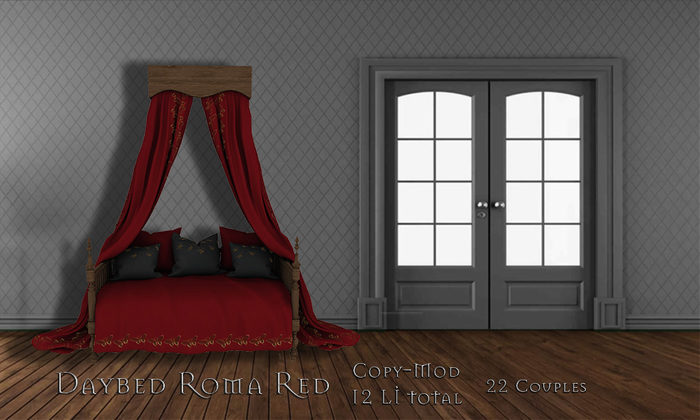 **Mistique** Daybed Roma Red (wear me)