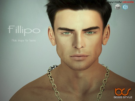 .::Boss Style::.  Shape Fillipo for bento - Catwa Victor