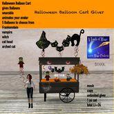 Halloween Balloon Cart Giver-Crate
