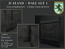 Icaland - Wall Set 1