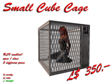Small Cube Cage (RLV enabled)