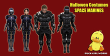 Halloween costumes - space marines