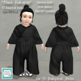*CC* TD Baby+Kid & Bebe(non-fitted) *Black Hakama* (wear)