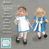 *CC* TD Baby+Kid and bebe(non-fitted) *Alice* (wear)