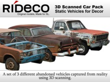 RiDECO - 3D Scanned Car Pack
