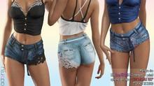 adorsy - Lily Jeans Shorts Fatpack - Maitreya