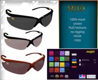 "MBD ""Sunglasses MD"" resize, hud textures, 100% mesh"