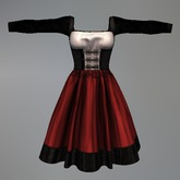Red Alpine Oktoberfest Maitreya Dress box