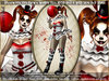 irrISIStible : HALLOWEEN EVIL CLOWN pennywise spirit WOMEN OUTFIT + SKIN + HAIR