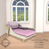 **Mistique** Chaise Lea Pink (wear me)